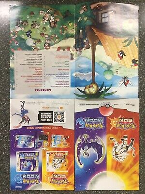 Pokemon Sun Pokenmon Moon Magazine Game Information Book Limited Edition New