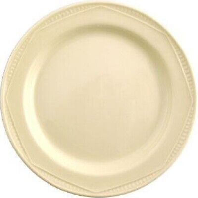 Steelite Monte Carlo Ivory Plates 202mm (Set of 24) [V3604]