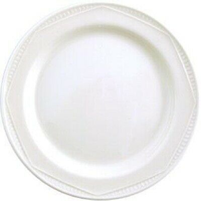 Steelite Monte Carlo White Plates 255mm (Set of 24) [V3735]