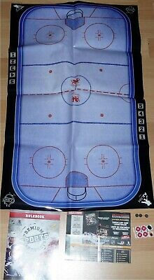 """NHL 2.5"""" Rink Rulebook Dice Game Series 1 / 2 by Imports Dragon Hockey Toy LOOSE"""