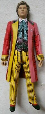 Doctor Who 5 inch Figure 6th Sixth Dr Colin Baker