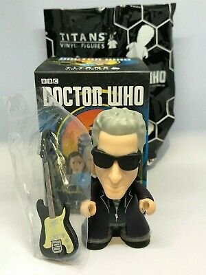 """Titans Doctor Who 12th Doctor 3"""" Heaven Sent Hell Bent Coll NEW w/ Guitar  2/20"""