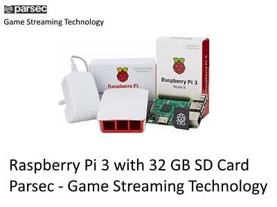 Raspberry Pi 32GB with Parsec - Game Streaming Technology
