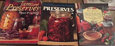 Bulk Lot Preserves Books Lot 2