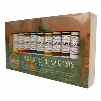 Gamblin Artists Oil Painting Paints Introduction Set Profesional Quality