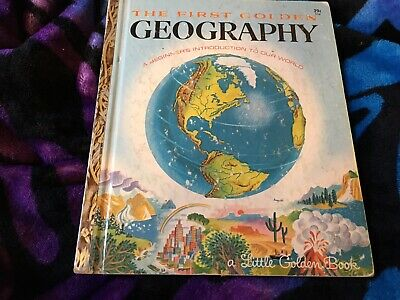 The First Golden Geography by Jane Werner Watson 1955