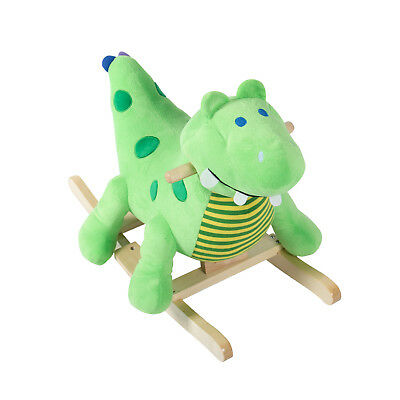 Baby Rocking Horse Plush Dinosaur For over 18 months w/ Nursery Rhyme Sound