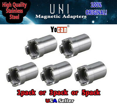 Yocan1 UNI Magnetic Connector Ring Stainless Steel Adapter 510 Thread Cartridge