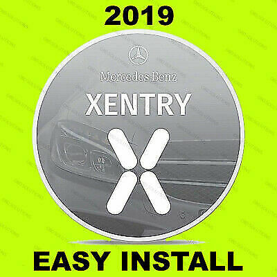 Newest V2019.05 MB SD Pass Thru Software Star OBD2 Diagnosis for MB Xentry