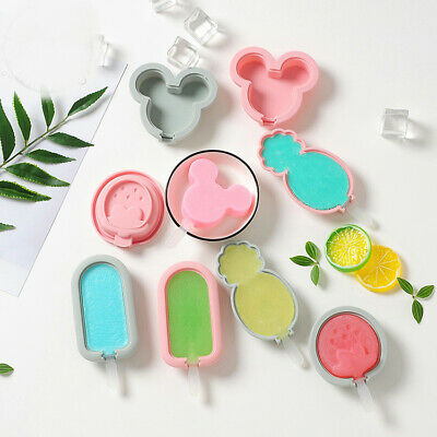 Silicone Cake Jelly Soap Mold Animal Fruits Ice Cream Cube Tray Chocolate Mould