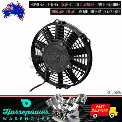 "SPEF3548 - Spal 14"" Electric Straight Blades Push Type Thermo Fan (1310CFM)"