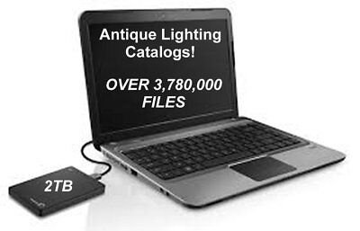ALL CATALOGS: 1,000's of Antique Lamp Catalogs Magazines Patents Lighting Parts