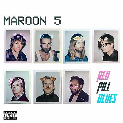 Maroon 5 - Red Pill Blues (Deluxe Limited Edition) - Cd - New