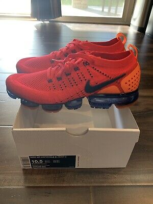 Nike Air Vapormax Flyknit 2 Size 10.5 AR5406-600