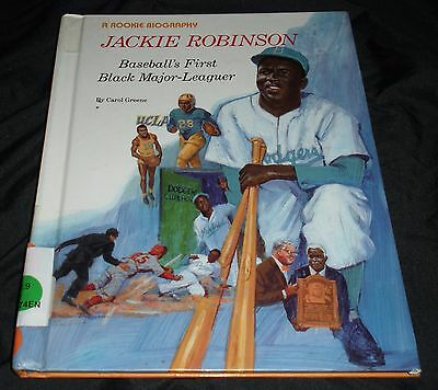 Jackie Robinson : Baseball's First Black Major Leaguer Rookie Biographies Series