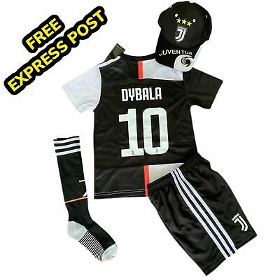 new product 0bf59 60fd3 2019 NEW KIDS Soccer Juventus Jersey White #7 Ronaldo Kit ...