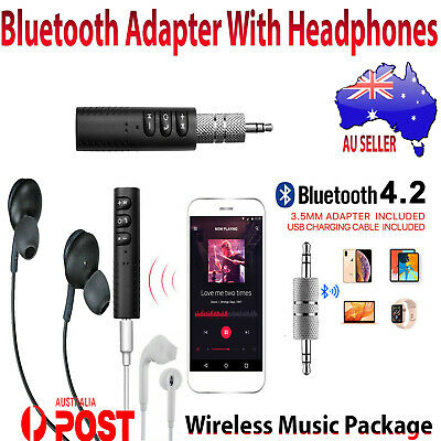 3.5mm Jack Wireless Bluetooth Receiver Car AUX Audio Adapter suit Bose Headphone