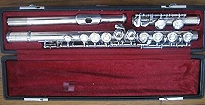 YAMAHA Flute YFL-211 S Nickel silver F/S USED JAPAN