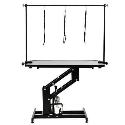 Professional Hydraulic Lift Dog Cat Pet Shop Grooming Table Adjustable Arm Noose