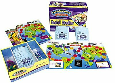 NewPath Learning Social Studies Curriculum Mastery Game, Grade 6, Class Pack