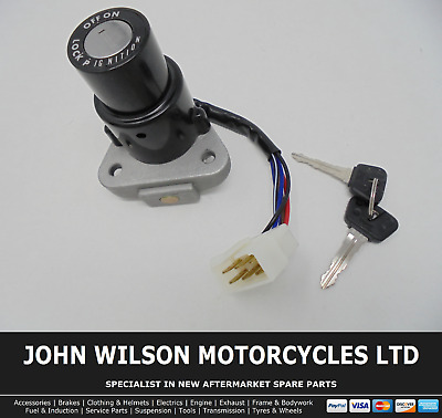 IGNITION SWITCH 6WIRE YAMAHA RD350-F,LC,N,R 1983-95