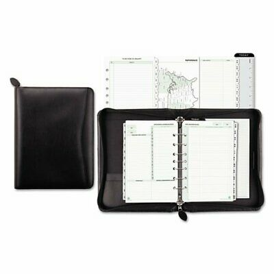 Day-Timer Recycled Bonded Leather Starter Set, Desk Size, 8-12 x 10-58 Overal...