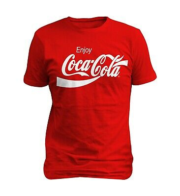 Coca Cola Enjoy Logo Men  T-shirt