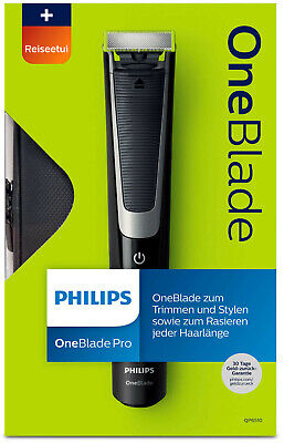 Philips OneBlade Pro Hybrid Trimmer & Shaver Comb UK 2-Pin QP6510/64 New Sealed