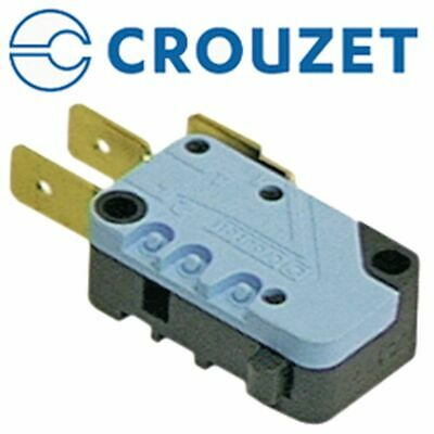 Microswitch With Plunger 250V 16A 1Co Connection Male Faston 6.3Mm L 28Mm