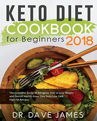 James Dr Dave-Keto Diet Ckbk For Beginners 2 (US IMPORT) BOOK NEW