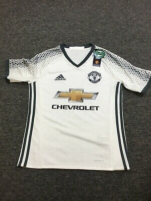 Manchester United Adidas away 3rd football shirts 2016/2017 white