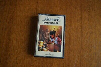Oh Mummy game Amstrad CPC 464 cassette AmSoft
