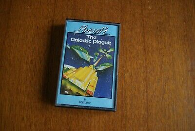The Galactic Plague game Amstrad CPC 464 cassette AmSoft