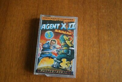 Agent X II game Amstrad CPC 464 cassette Mastertronic