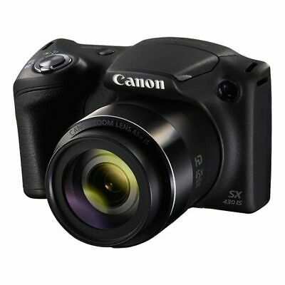 Canon Powershot SX430 IS 45x Zoom Digital Camera Bundle with 64GB SD Card
