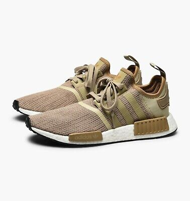 Cheap Adidas NMD R1 White Brown Trainers