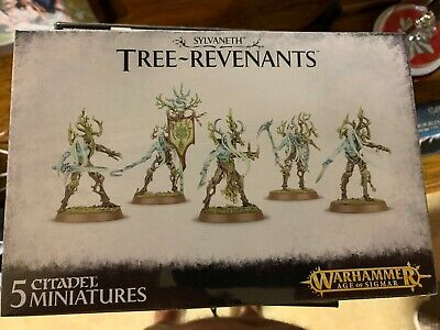 Sylvaneth Treelord Ancient Warhammer Age Of Sigmar Pdf Painting Tutorial Eng Esp