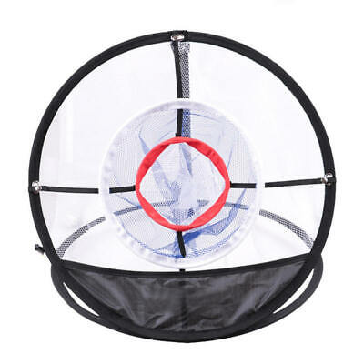 Golf Chipping Pitching Practice Net Hitting Cage Outdoor Training Aid Too EGY