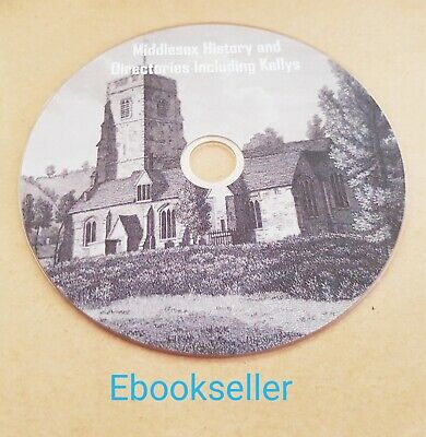 pdf ebooks, 44 of Middlesex history and directories includes kellys on a disc