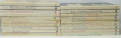 Vintage Time LIfe Foods Of The World Cookbooks 19 Volumes Hardcover Books