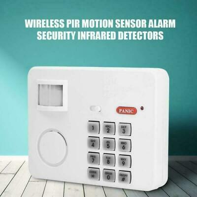 Wireless Door Alarm System Home Security Keypad Garage Shed PIR Motion Sensor