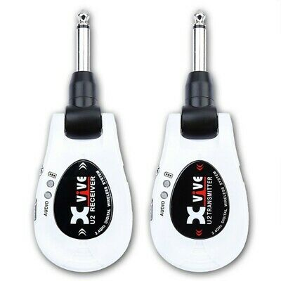 NEW XVIVE XV-U2 Wireless Guitar System White from JAPAN