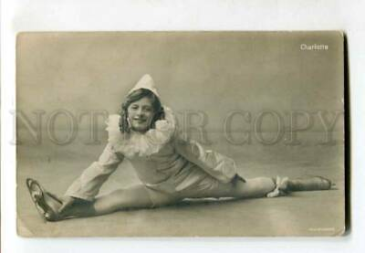 401709 CHARLOTTE Skating Pierrot ADMIRALSPALAST old PHOTO