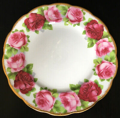 Royal Albert Old English Rose 7 & 1/4 Inch Pie Plate First Quality 8 Available