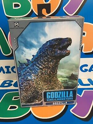 """GODZILLA King of the Monsters 12"""" Head to Tail Deluxe Action Figure Neca 2019"""