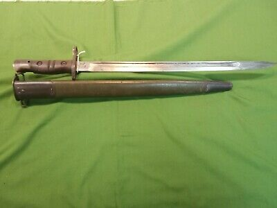 WW1 US M-1917 Remington Bayonet W/ Scabbard
