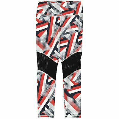 TOMMY HILFIGER Girls' BELITA Sports Leggings, Sky Captain/Multi, sizes 8 10 y.