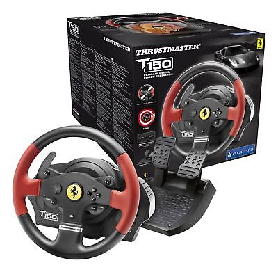 Volante Thrustmaster T150 Ferrari Wheel Force Feedback Ps4 Ps3