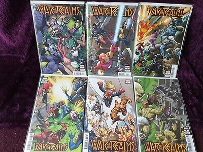 War Of The Realms #1 2 3 4 5 6 - International Connecting Set #1-6 - Marvel