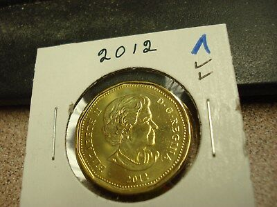 2012 - Canada - Brilliant Uncirculated Loonie - Canadian Dollar
